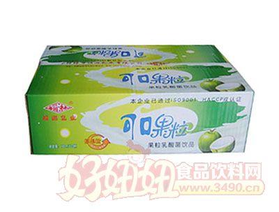 福淋可口果粒果粒乳酸菌饮品