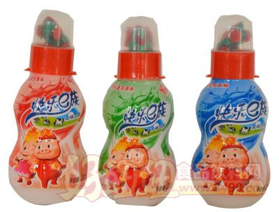 福淋快乐e族乳饮料瓶装