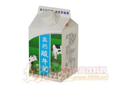 福淋高钙酸牛奶
