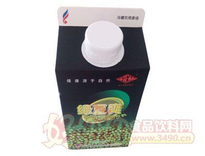 福淋绿豆爽植物蛋白饮料