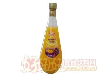 喜牵喜热带果园生榨芒果汁1.5L