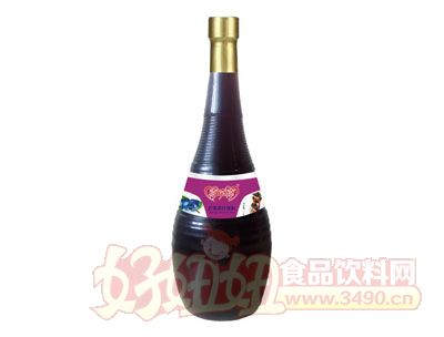 喜牵喜蓝莓汁饮料瓶装