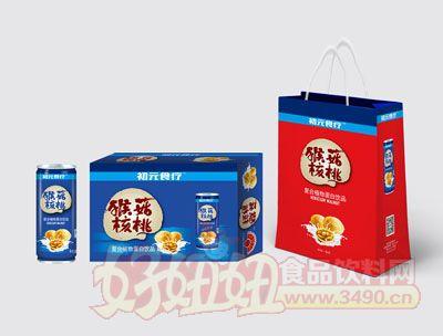 猴菇核桃植物蛋白饮料箱装