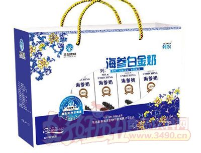 奥帆海参白金奶礼品盒