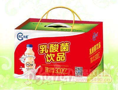 优C优E乳酸菌饮品340ml塑包(礼盒手提袋装)