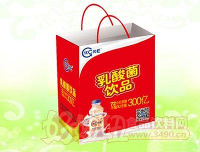 优C优E乳酸菌饮品340ml塑包(手提袋装)