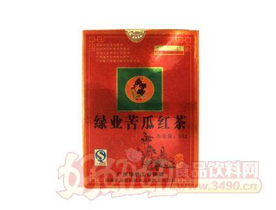 广东绿业50g绿业苦瓜红茶