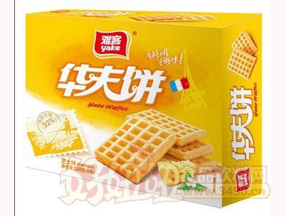 雅客华夫饼盒装芝士味168g