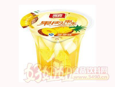 雅客果肉果冻菠萝味120g