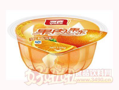雅客果肉果冻蜜桔味125g