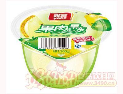 雅客果肉果冻苹果雪梨200g