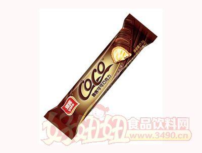 雅客可可巧克力榛子味夹心威化巧克力21.5g