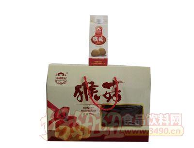 三寅猴菇饮品箱装