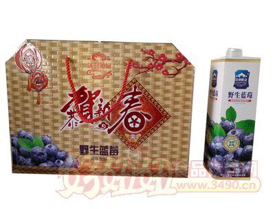 三寅野生蓝莓箱装