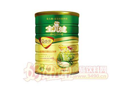 金小米婴幼儿小米粉罐装800g