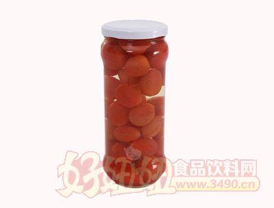 圣?#31561;?#30382;小番茄罐头