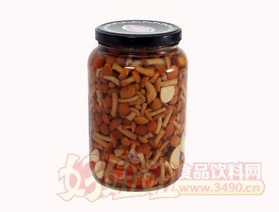 圣诺滑子蘑菇罐头