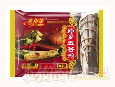 泰丰喜相缘原乡五谷粽红糖蜜枣口味500g