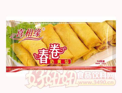 泰丰喜相缘春卷奶黄馅306克