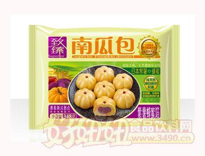 泰丰致臻南瓜包紫薯蜂蜜馅348克袋装