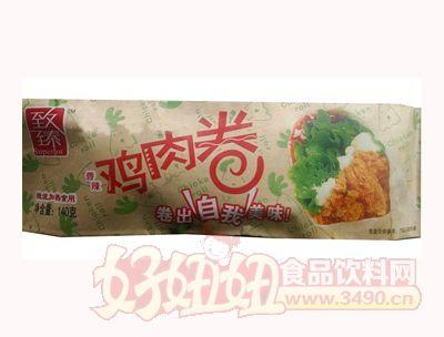 泰丰致臻香辣鸡肉卷140g
