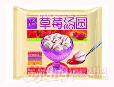 泰丰致臻草莓汤圆清醇草莓馅180g