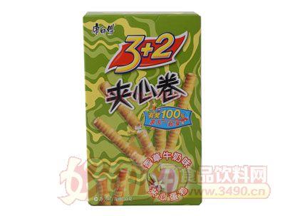康师傅3+2?#34892;?#21367;香草牛奶味