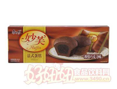康师傅妙芙法式蛋糕浓情巧克力味