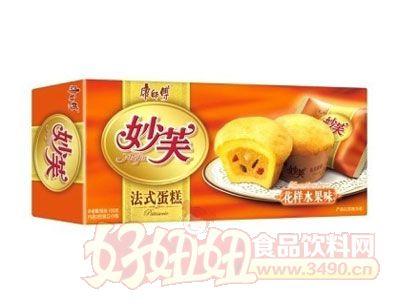 康师傅妙芙法式蛋糕花样水果味