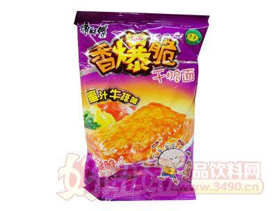 康师傅香爆脆干脆面蜜汁牛排味