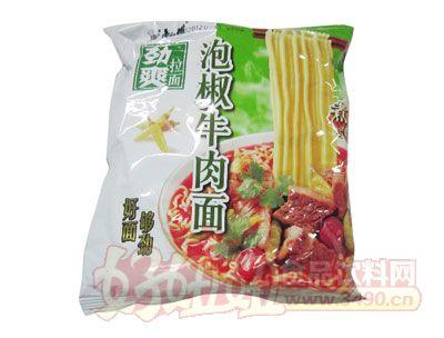 康师傅劲爽拉面-泡椒牛肉