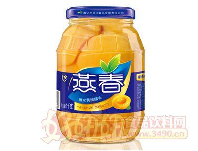 燕春1000克糖水黄桃罐头