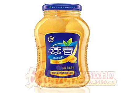 燕春1060克糖水黄桃罐头