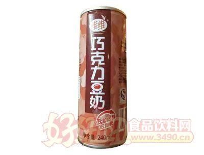 维维巧克力豆奶240ml