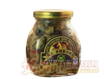 燕春��太香辣蘑菇罐�^