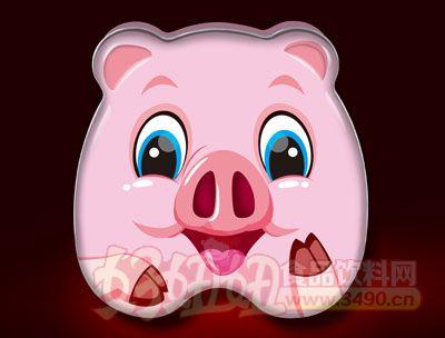 香仔豚十二生肖蛋酥卷(猪)
