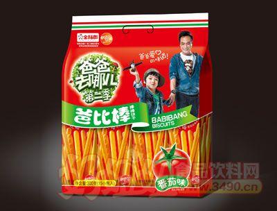 金福郎爸比棒棒棒�干番茄味300g