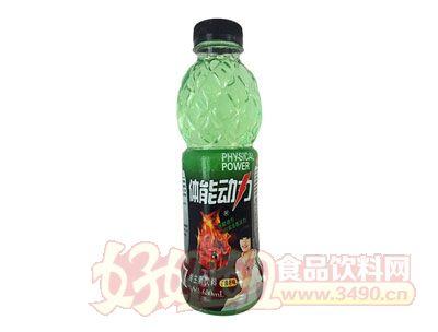 浩园体能动力青柠味维生素饮料600ml