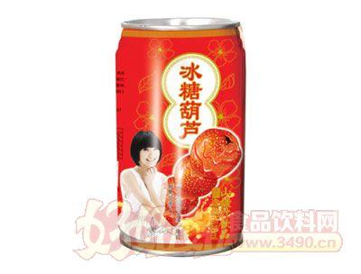 浩园冰糖葫芦山楂汁饮品易拉罐