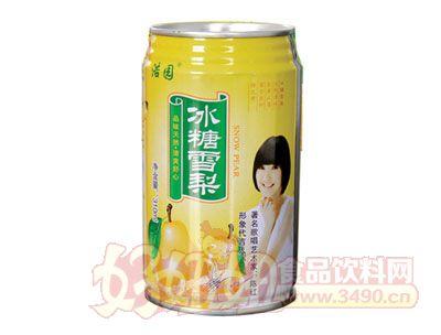 浩园冰糖雪梨310ml易拉罐