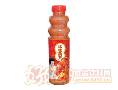 浩园冰糖葫芦山楂汁518ml