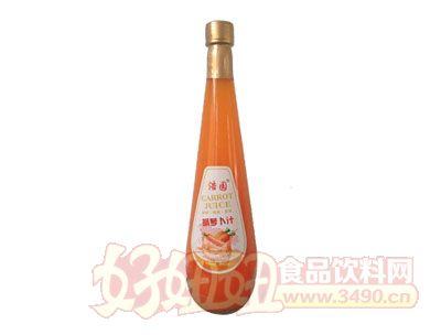 浩园胡萝卜汁828ml瓶装