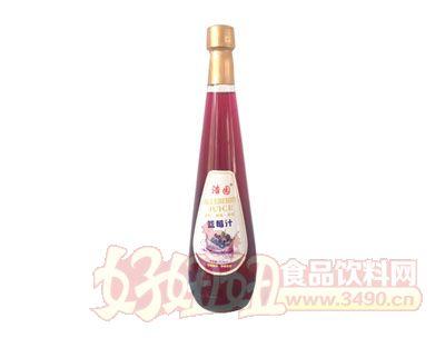 浩园蓝莓汁828ml瓶装