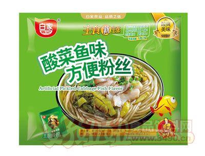 白家酸菜�~味方便粉�z袋�b