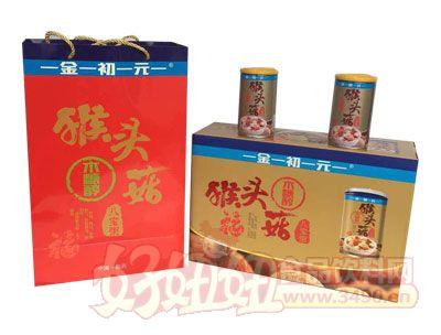 金初元猴头菇木糖醇八宝粥礼盒