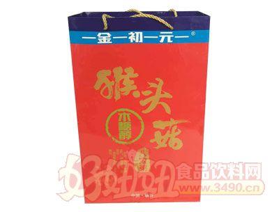 金初元猴头菇木糖醇八宝粥手提袋
