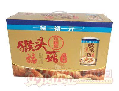 金初元猴头菇木糖醇八宝粥箱装