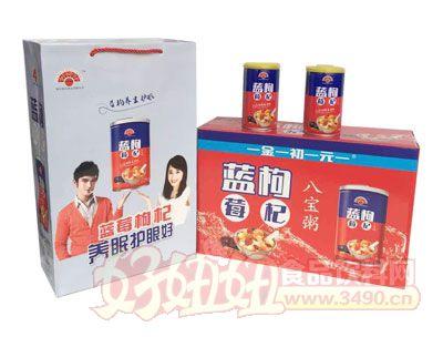 金初元蓝莓枸杞八宝粥礼盒
