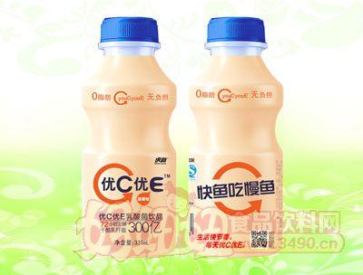 优C优E340ml乳酸菌饮品