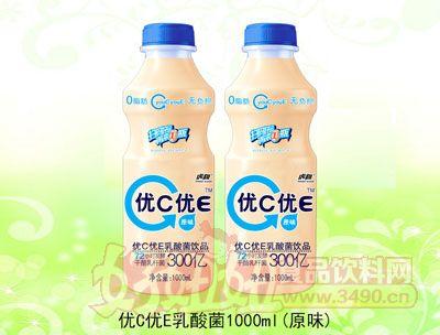 优C优E乳酸菌饮品1000ml原味